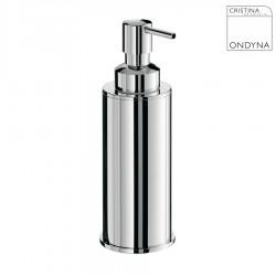 Porte savon liquide Chrome - CRISTINA ONDYNA - AM12751