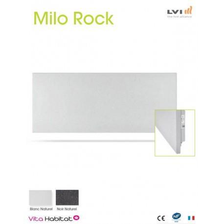 Radiateur electrique MILO Rock Blanc 430W Horizontal - LVI 2050600