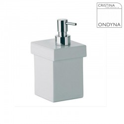 Distributeur savon liquide SKUARA Ceramique - CRISTINA ONDYNA - SK52804