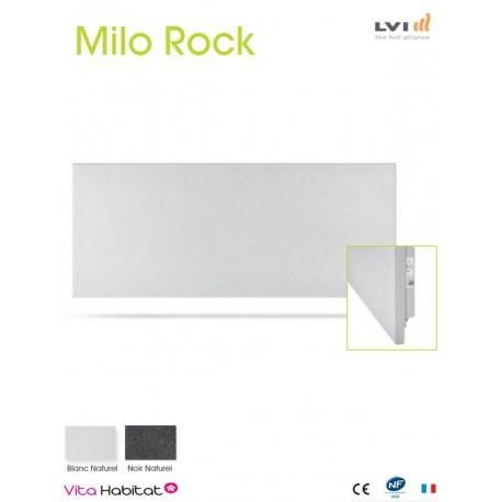 Radiateur electrique MILO Rock Blanc 670W Horizontal - LVI 2050900