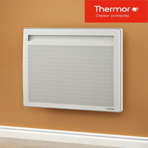 Blanc horizontal Radiateur Connect/é /à Panneaux Rayonnants Emotion 3 1250W