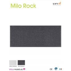 Radiateur electrique MILO Rock Noir 670W Horizontal - LVI 2050901