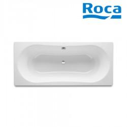 Baignoire acier émaillé 1800X800 Blanc DUO PLUS - ROCA A221660000