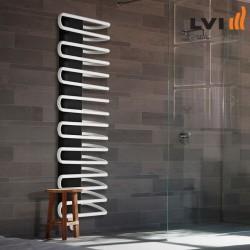 Sèche-serviette LVI - MAROA BW électrique  750W - ouverture des tubes à gauche - 4840033