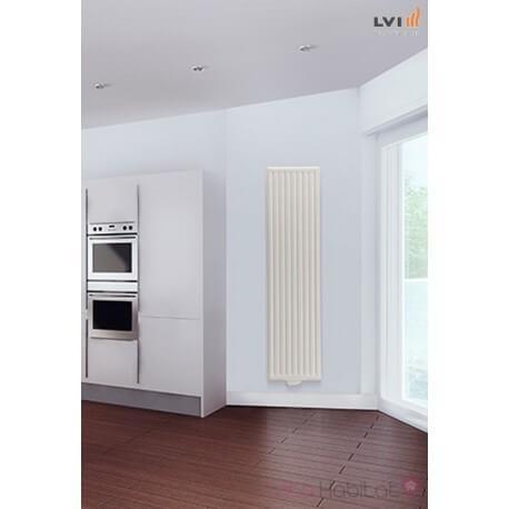 Radiateur LVI - YALI GV - 1500W FLUIDE - Vertical (haut.1950) 5119150