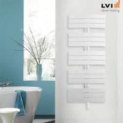 Sèche-serviettes électrique fluide INYO 1250W - LVI 4890014