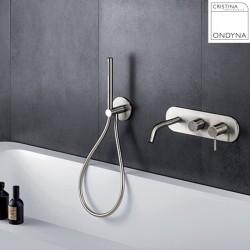 Mitigeur bain/douche mural 2 sorties - Cristina Ondyna PX10228