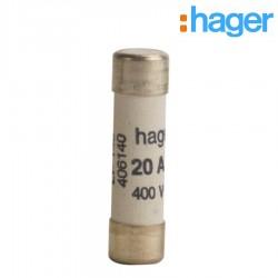 Cart. fusible 20A 8,5x31,5mm -   HAGER LF140