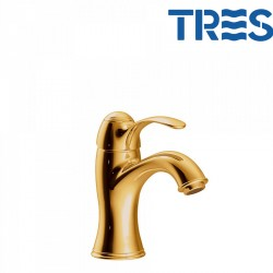 Mitigeur lavabo or TRES CLASIC  - TRES 24210301OR
