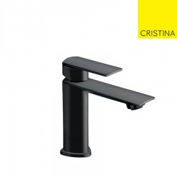 Mitigeur lavabo regular avec bonde  laiton up&down blackmat PROFILO - CRISTINA ONDYNA PF22013