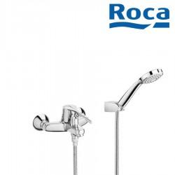 Mitigeur bain-douche avec douchette et inverseur automatique chromé VICTORIA - ROCA A5A0123C02 ROCA