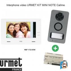 Interphone video URMET KIT MINI NOTE Callme - 1722/85W