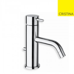 Mitigeur lavabo chromé avec vidage TRIVERDE  - CRISTINA ONDYNA TV22151
