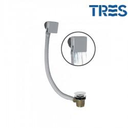 Système de vidage et de remplissage de baignoire avec bonde carrée CASCADE - TRES 13453440