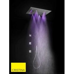 Ciel de pluie Chromothérapie brumisateur + musique connecté Chromé Temptation - CRISTINA ONDYNA TT44251