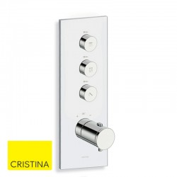 Façade-de-douche-verticale-thermostatique-Chromée-Thermo-Up-TRIVERDE-CRISTINA-ONDYNA-XT72351