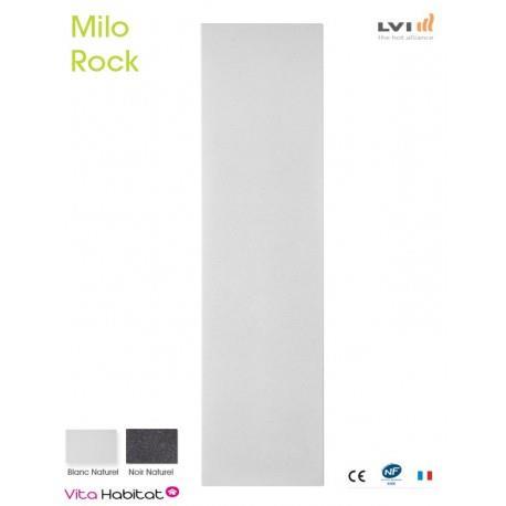 Radiateur electrique MILO Rock Blanc 600W Vertical - LVI 2018020