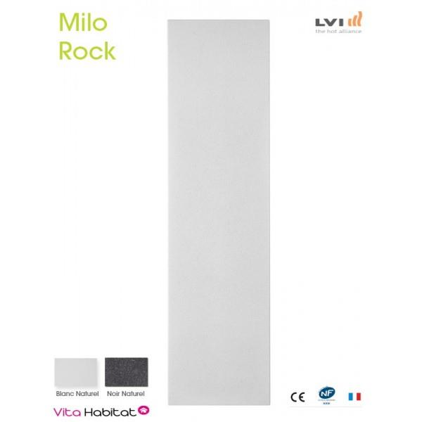 radiateur electrique milo rock blanc naturel 600w vertical lvi 2018020 vita habitat. Black Bedroom Furniture Sets. Home Design Ideas
