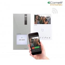 Kit vidéo quadra et mini wi-fi - Comelit 8451V/BM