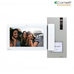 """Kit visiophone couleur QUADRA 2 fils moniteur maxi 7"""" - Comelit 8461X/BM"""