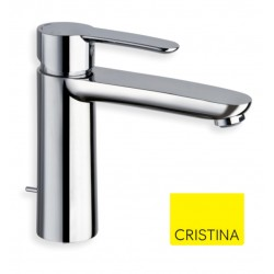 Mitigeur lavabo XL avec vidage en laiton Chrome NEW DAY - CRISTINA ONDYNA ND26451