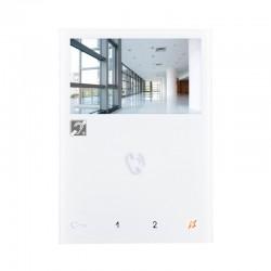 Moniteur Mini mains libres avec phonie full-duplex et écran couleur 4.3 - COMELIT 6721W/BM