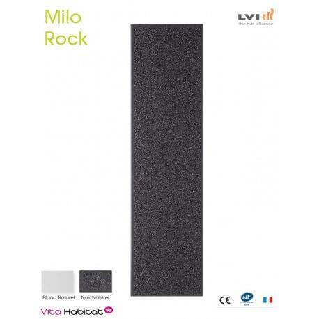 Radiateur electrique MILO Rock Noir 1250W Vertical - LVI 2015061