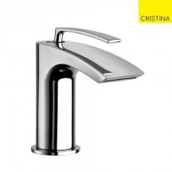 Mitigeur lavabo small monotrou Chrome BOLLICINE - CRISTINA ONDYNA BO22451