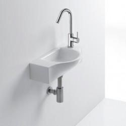 Lave-mains céramique Blanc Brillant - Cristina Ondyna WPE4409