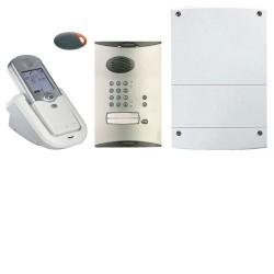 Kit Interphone pour 1 logement à code - HAGER LCP02F