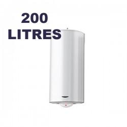 Chauffe-eau électrique vertical au sol 200 litres - SAGEO - ARISTON 3000591