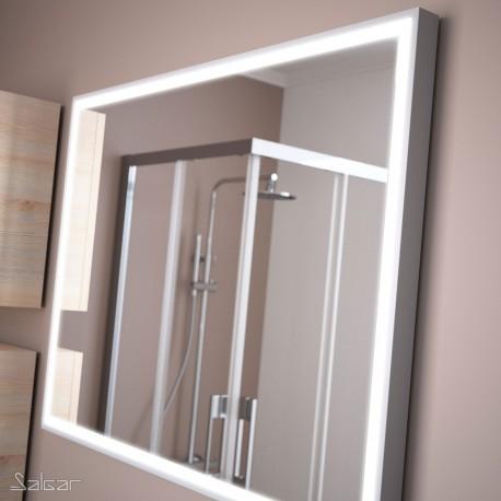 Miroir ROMA 600 x 800 mm avec lumière LED - SALGAR 19089