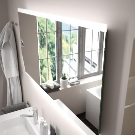 Miroir Up & Down 800 x 600 mm avec lumière LED - SALGAR 21736