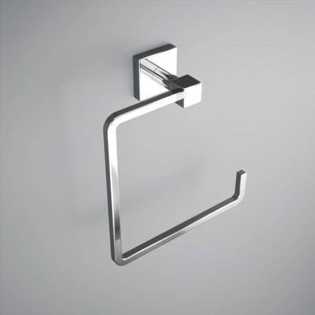Anneau porte serviette laiton chromé pour salle de bain - SALGAR Nervion 12767