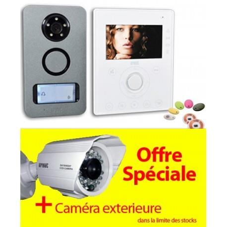 OFFRE URMET KIT NOTE + CAMERA - Interphone vidéo mains libre et Contrôle d'accès - URMET 1722/71