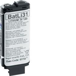 Pile lithium 3V / 1 Ah - BATLI31 - Hager Logisty