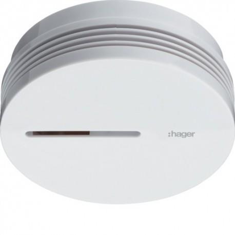 Détecteur de fumée HAGER 5 ans Autonome Stand alone  - TG600A
