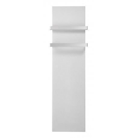 Sèche-serviettes électrique LVI MILO Rock Blanc 1000W avec barres