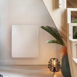 Radiateur électrique chaleur douce ETIC Compact 1250W Blanc NOIROT - NEM2404SEEC