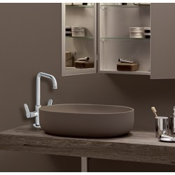 Mélangeur lavabo monotrou Chromé EAST SIDE - CRISTINA ONDYNA ES22651