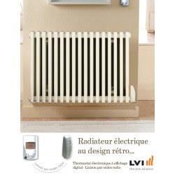 Radiateur LVI - EPOK H - 1000W FLUIDE - Horizontal (haut.600) - 3630610