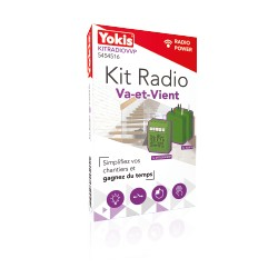 Kit Radio Va-et-Vient YOKIS - Urmet KITRADIOVVP