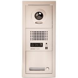 Platine de rue 1 bouton GT vidéo pour accessibilité Collectif GTVH1P - AIPHONE - 200054