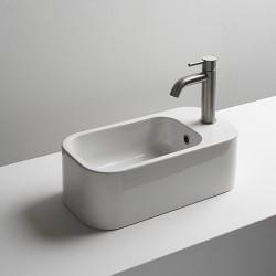 Cosa 48 Lave-Mains Vasque Ceramique Avec Trop Plein  Robinetterie VASQUES - CRISTINA ONDYNA COSA48 Cosa 48 Lave-Mains Vasque Cer