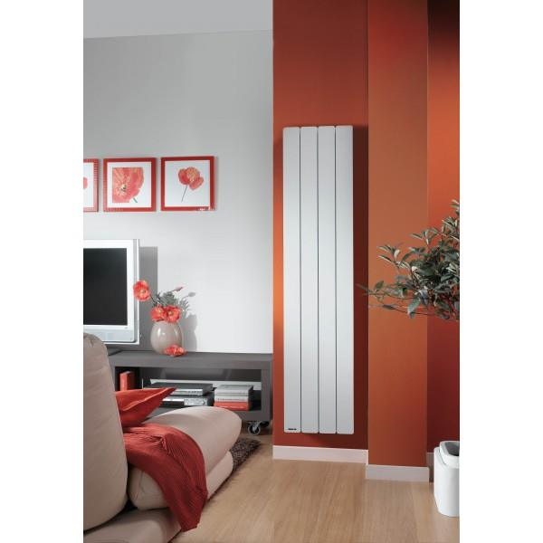 radiateur fonte noirot bellagio smart ecocontrol 1000w vertical blanc n1693sefs vita habitat. Black Bedroom Furniture Sets. Home Design Ideas