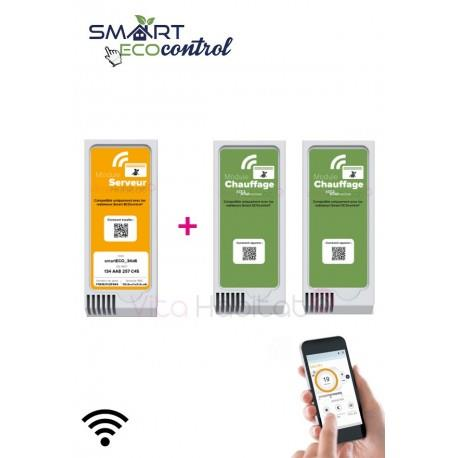 Kit de démarrage Modules Smart ECOcontrol AIRELEC - A692659