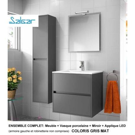 Mobilier salle de bain 2 for Colonne miroir pivotant