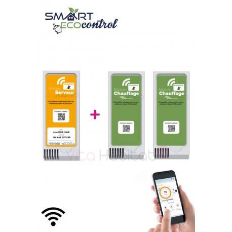 kit de d marrage modules smart ecocontrol noirot blanc. Black Bedroom Furniture Sets. Home Design Ideas