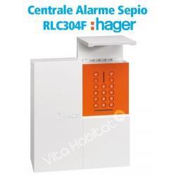 Centrale alarme radio Sepio, 4 groupes - RLC304F - Hager