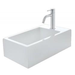 Lave mains céramique Hox Mini Blanc Mat VASQUES - CRISTINA ONDYNA WHX450924